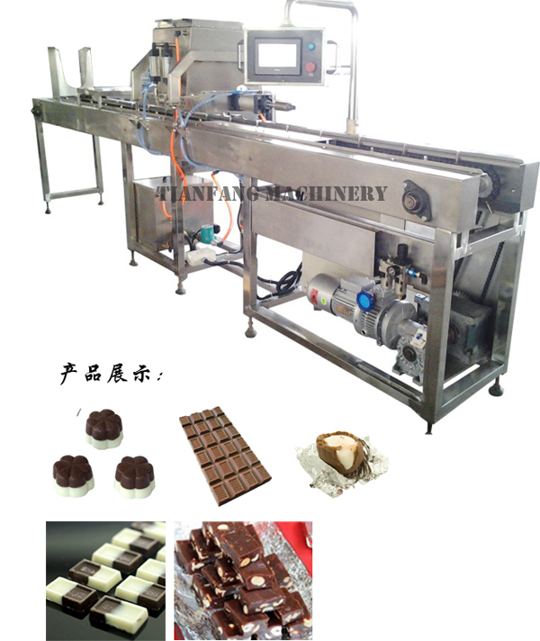 Semi-automatic Chocolate Moulding Machine